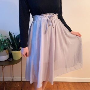 Grey Fairy Skirt